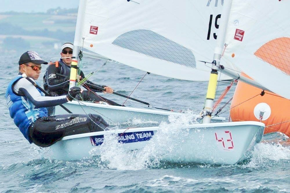 The next day racing started with variable conditions and close racing. I was pleased to finish day 1 with a score line of 3 and 1 to be 2nd overall.