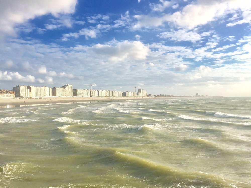 After a solid day of driving we arrived in Nieuwpoort to some epic conditions. Sun, wind and waves! We had one day of pre-event training before headin into the competition...