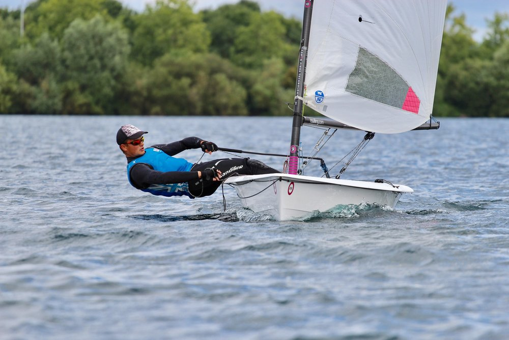 After sailing the RS Aero only a handful of times I headed up to Reading on my holidays to compete in the Aero Youth Nationals. The 9 rig was very interesting to sail but at my 80kg I struggled keep the boat driving and felt quite over-powered in only 12 knots, leaving me thinking that a 7 might be better suited to me. Still it was a very, very fun event and although we didn't have any wind on the Sunday I had some epic battles over 6 races on Saturday with the likes of Ed Higson, Ben Rolfe and the rest of the fleet.  There was a slight bit of confusion over the final results but I am pleased to say I am RS Aero 9 Youth National Champion!