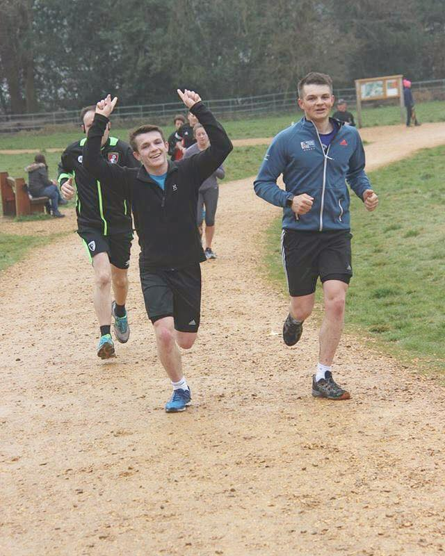 On my final few days in the UK the weather cleared and normal life resumed. I had great fun one Saturday doing a Parkrun at Upton house with the family.