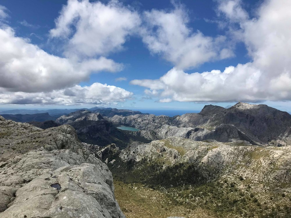 A small group of us decided to climb the highest open peak on Mallorca, a very scenic and wonderful 5 hour trek with some spectacular views.