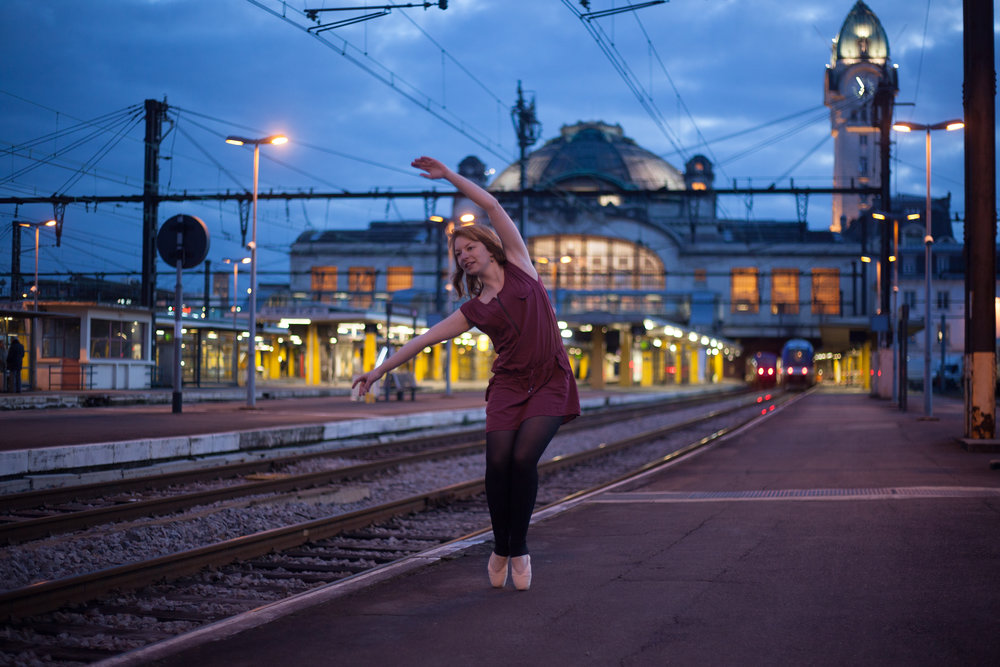 Février 2016 - Projet personnel - Emilie, danseuse - Limoges