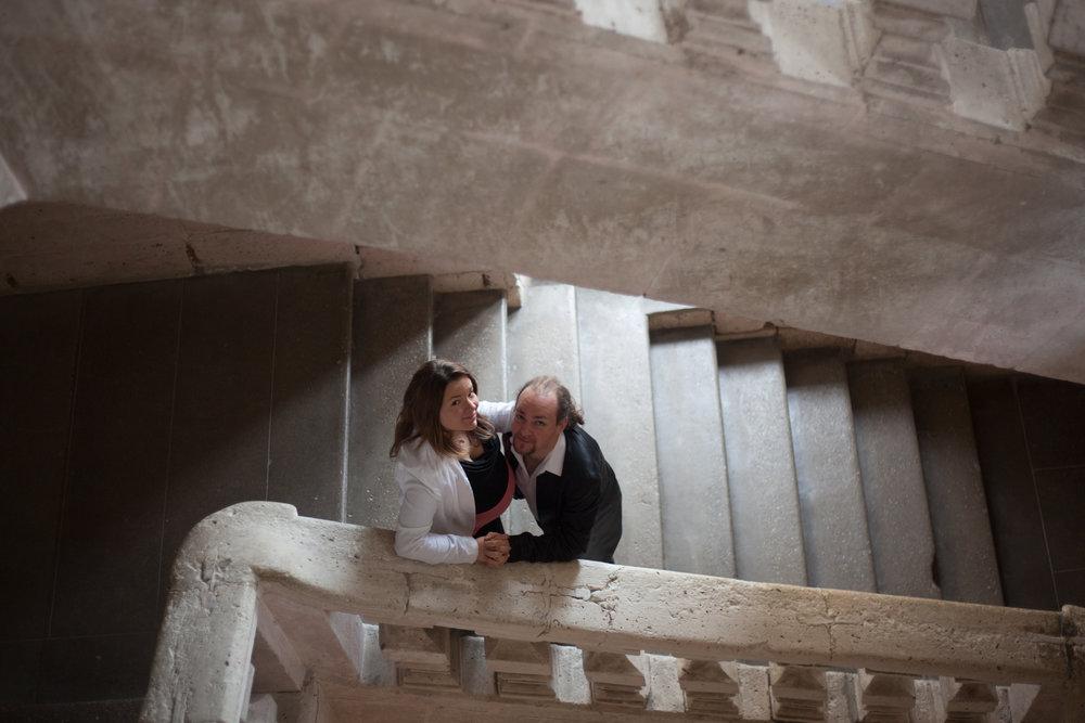 Mars 2016 - séance grossesse Coralie & Ludovic - Dordogne