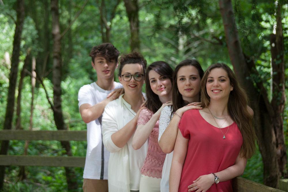 Juin 2016 - séance famille entre cousins - Dordogne