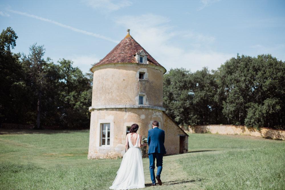mariage domaine de la léotardie Dordogne Bergerac Photographe Pauline Maroussia P Bordeaux