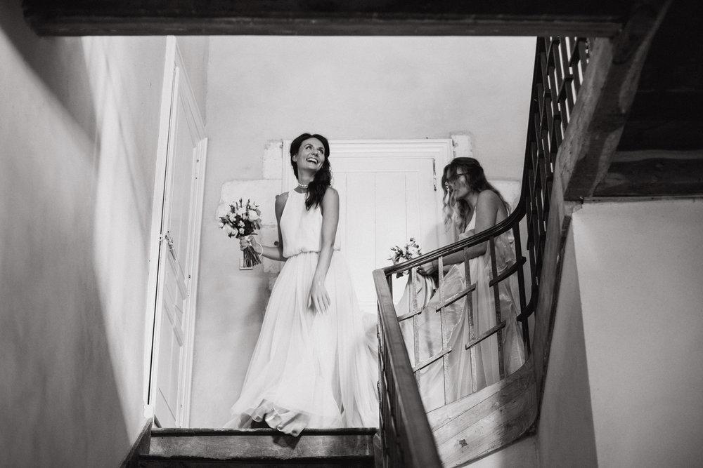 mariage anglais domaine de la Léotardie Bergerac Dordogne Photographe Pauline Maroussia P.