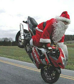 Biker Santa is coming to Moontown during the Saturday WOD! Bring the kids!! He will show up at around 0840🎅🏋🎅