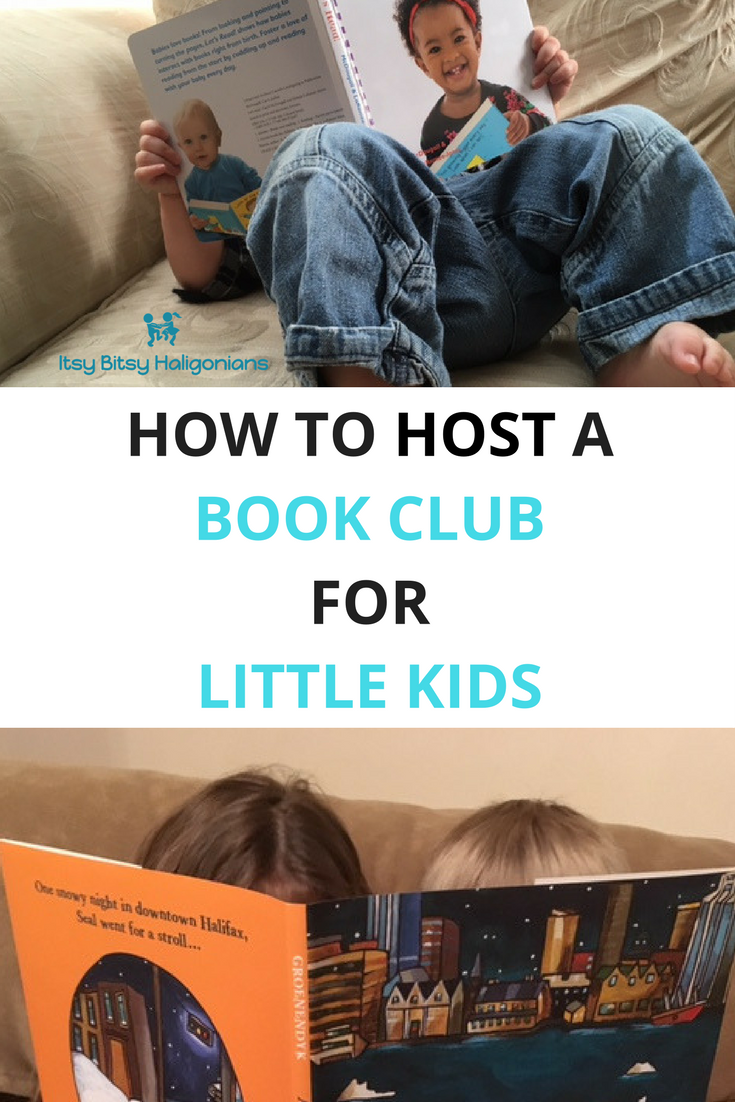 How to host a book club for little kids