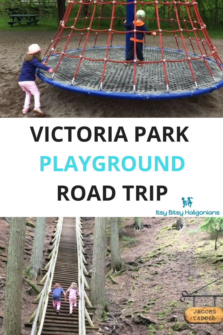Victoria Park Playground in Truro, NS - A must-do road trip!