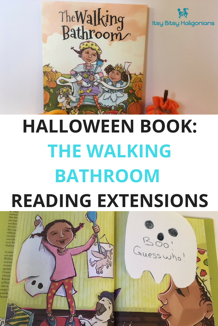 The Walking Bathroom Halloween book extension activities