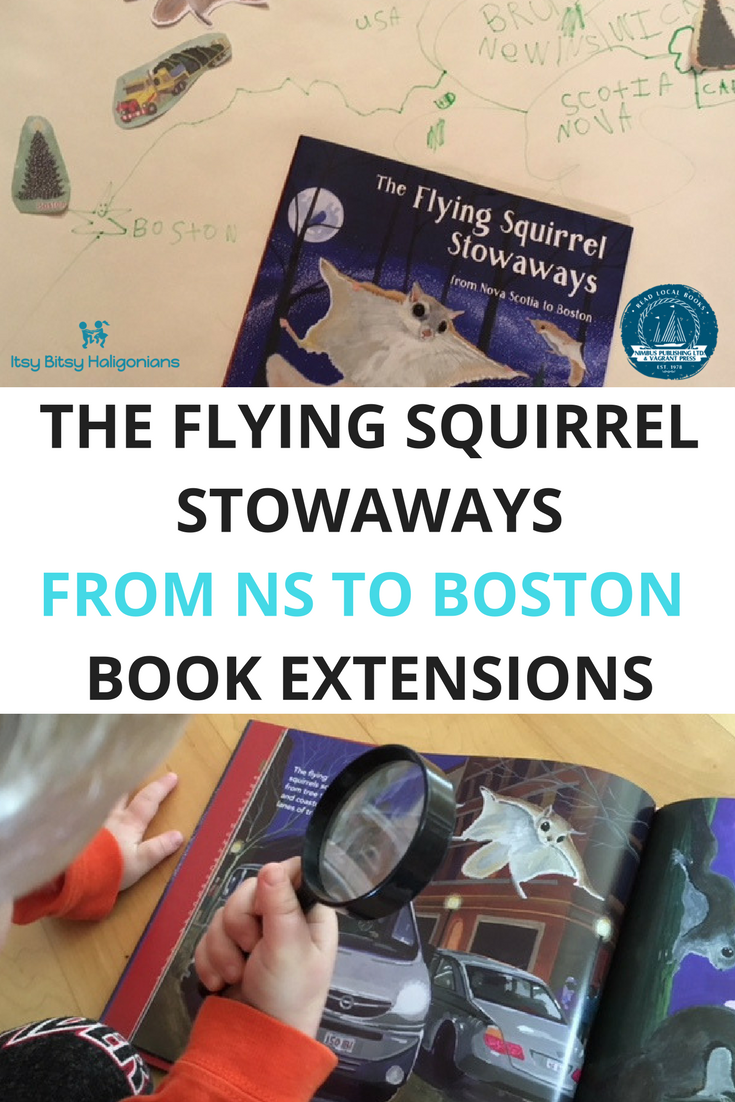 This book tells the story about why Nova Scotia gives a Christmas tree to Boston every year and this post has some fun extension activities to go along with the book!