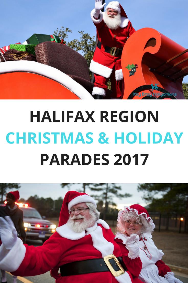 Halifax's Christmas, holiday and Santa Parades 2017