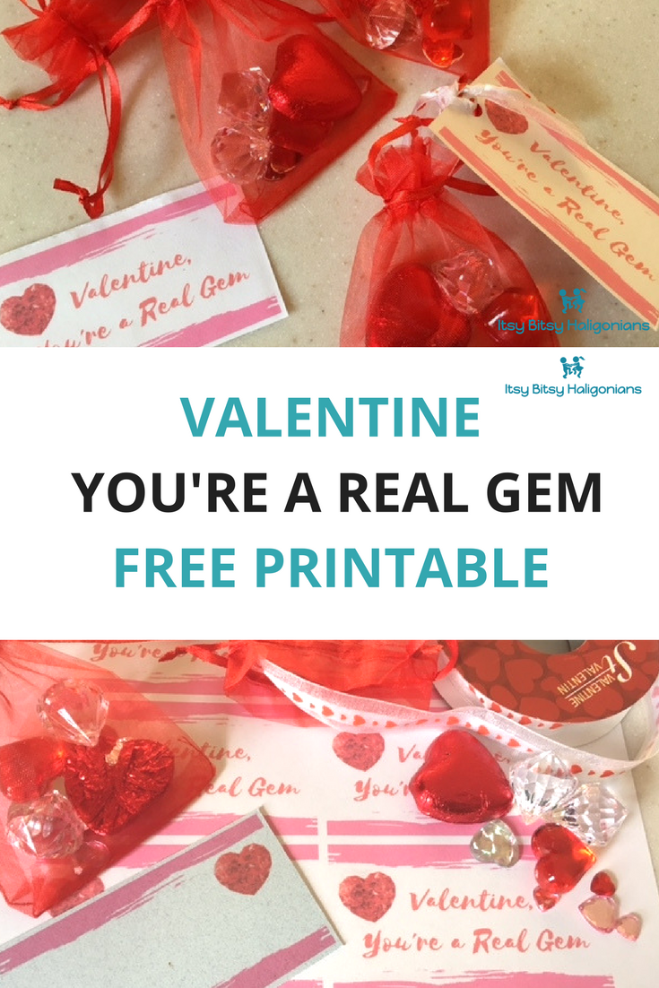 You're a Real Gem Valentines with FREE PRINTABLE.png