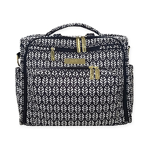 Ju-Ju-Be B.F.F. The Royal Garden Diaper Bag in Black/Ivory