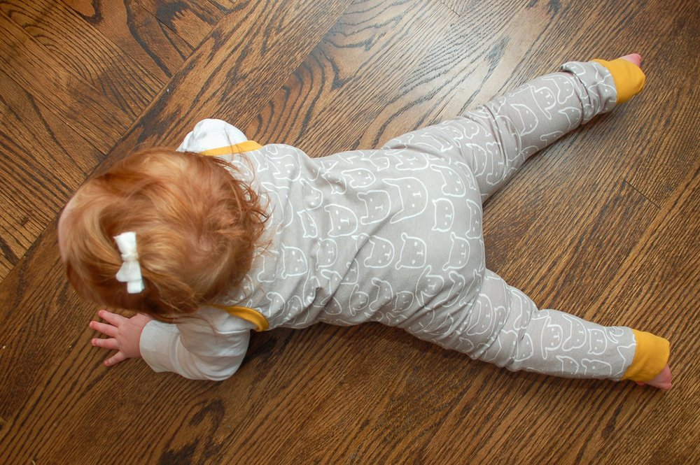 MOSSY NOOK CREATIONS - From one piece rompers and play pants to hoodies and beanies, clothes that are comfortable, stylish and stand up to the rigors of childhood.