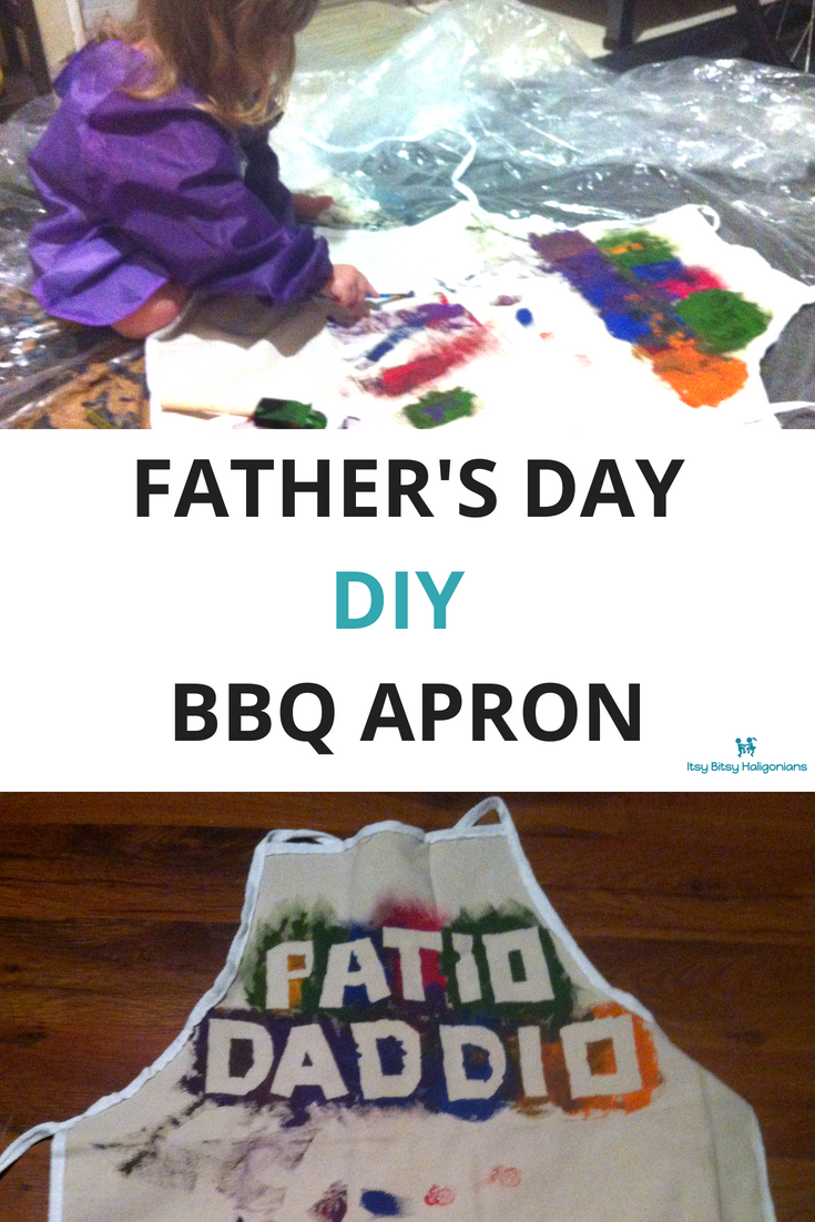 Father's Day BBQ Apron. Cute homemade gift from kids!.png
