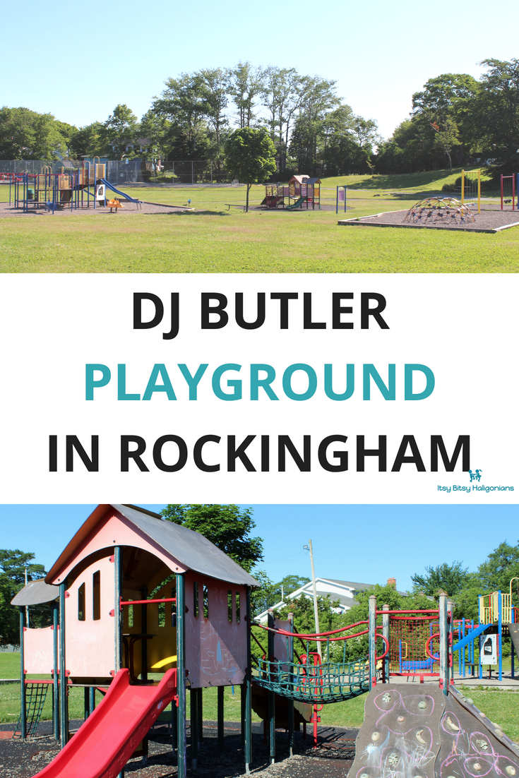 DJ Butler Playground in Rockingham in Halifax