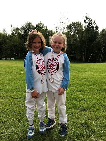 Teammates (photo courtesy of Canadian Girls Baseball)