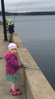 Fishing at DeWolf Park