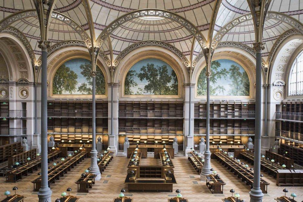 Bibliothèque nationale de France, Richelieu Library