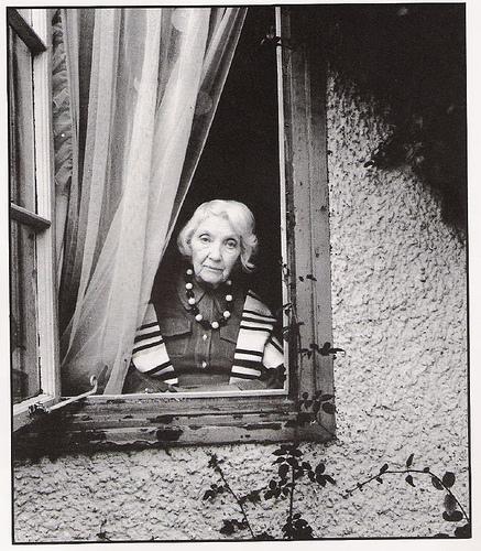 Jean Rhys at home in Devon, England.