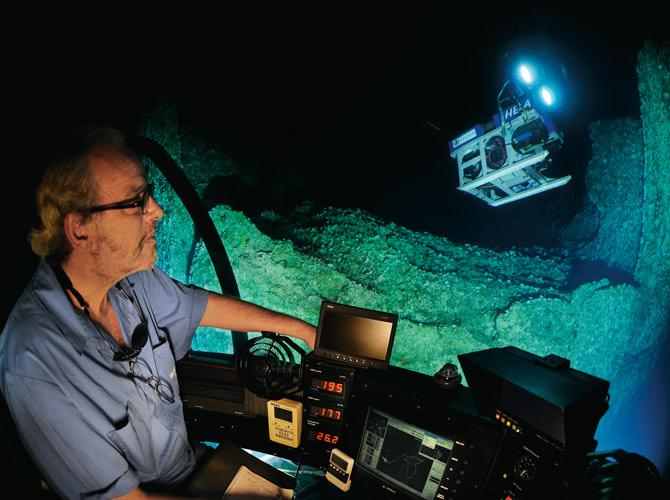 Seamounts - Dr. Greg Stone, for National GeographicSeptember 2012