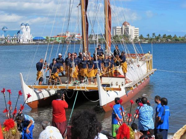 Aboard the Hokule'a: Sailboats, Small Islands and the Stewardship of Nature - Dr. Greg Stone, for Conservation InternationalSeptember 4, 2014