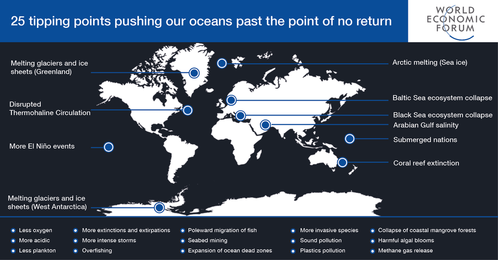 25 tipping points pushing our oceans past the point of no return - Dr. Greg Stone & Nishan Degnarain, for World Economic ForumJune 7th, 2017