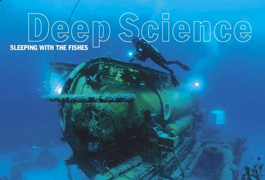 Deep Science - Dr. Greg Stone, for National GeographicSeptember 2003