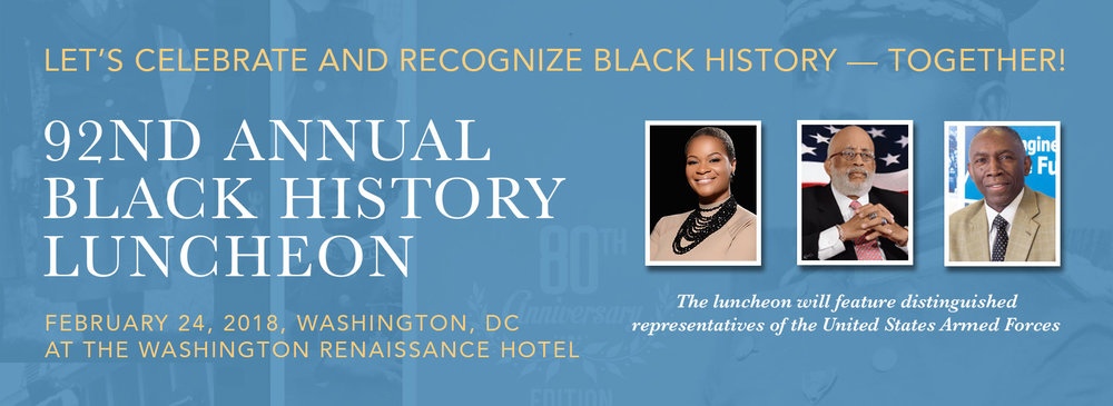 Remembrance Featured in D.C. - H. Buchanan will appear with Remembrance: Arrival at the 92nd Annual Black History Luncheon in Washington D.C.