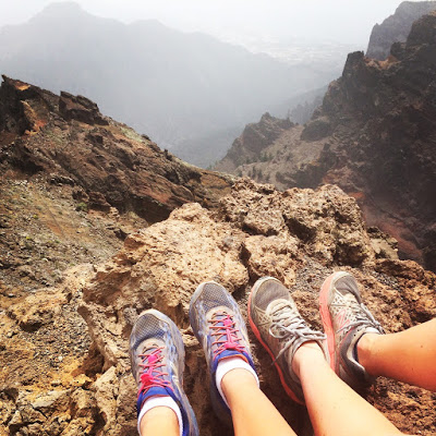 The shoes that took us through Transvulcania!