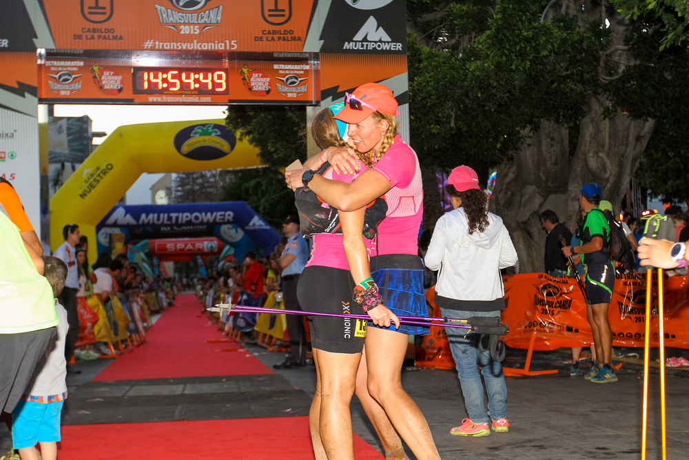 At the end of Transvulcania