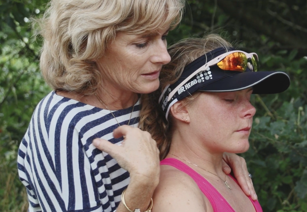 In tears and a world of pain on day three with mum