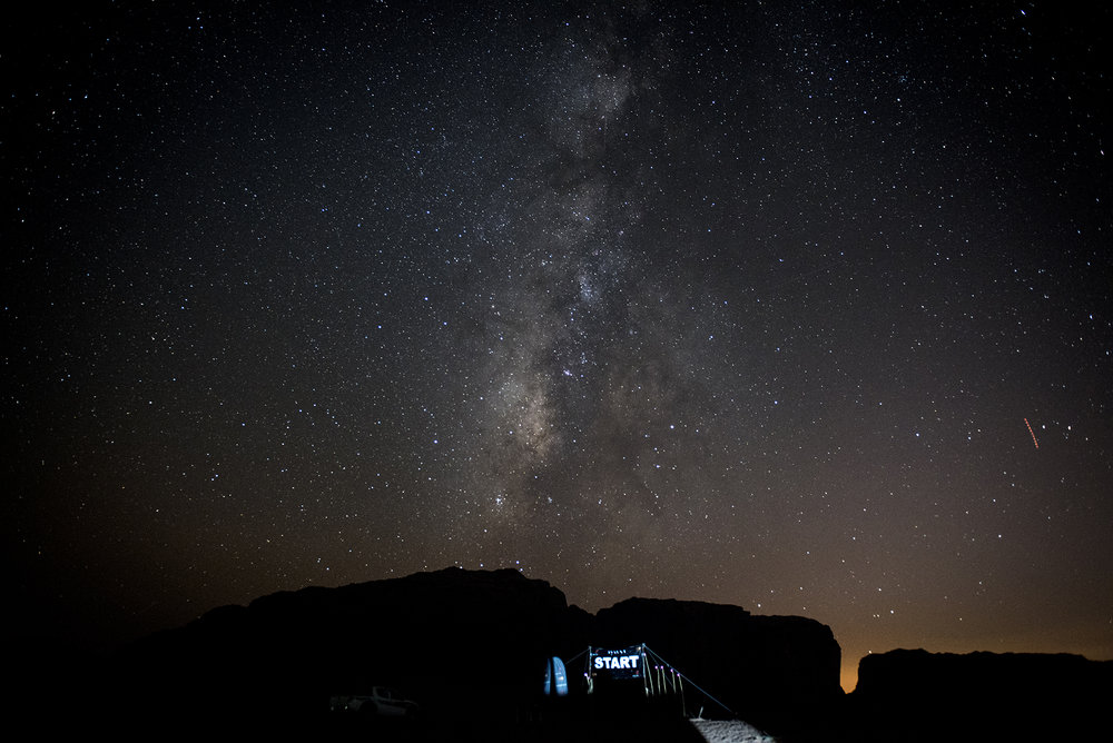 Photo credit:  Tufnell Photography  - Sleeping under these stars!
