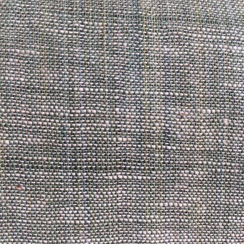 Algodón Blanco y Verde*      Ancho 43cm - $300.00     Ancho 53cm- $360.00  Ancho 120cm - $820.00 - *Mezcla de Añil y Pericon
