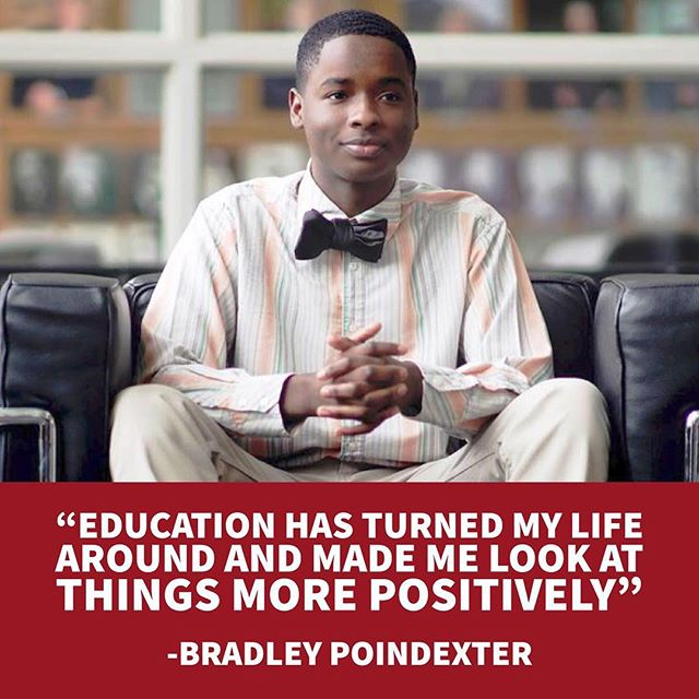 The power of education. Don't all students deserve the same quality education? #TeachUsAll #EdEquity