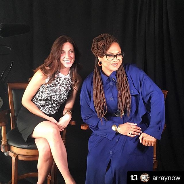 #Repost @arraynow ・・・ Earlier in #NYC: ARRAY founder @ava + filmmaker Sonia Lowman talk to #theroot about @teachusallfilm! Coming to #Netflix + screens across the country on Monday! #filmmakers #indiefilm #documentaryfilm #comingsoon #civilrights #education #arraynow