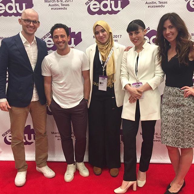 This time last year we were at @sxswedu! Time flies when you're changing the world! 🙌🏻🙌🏽🙌🏿 . And we've got more work to do! Join the movement for #EdEquity today!