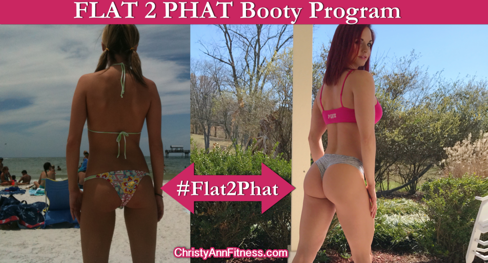 This is a glute isolation program that will absolutely replace your flat or saggy booty with a muscular firm behind that you are proud of.  you can add this to any other program I offer or use it as a stand alone plan.  Click  HERE  to receive 2 FREE Flat 2 Phat training exercises now!