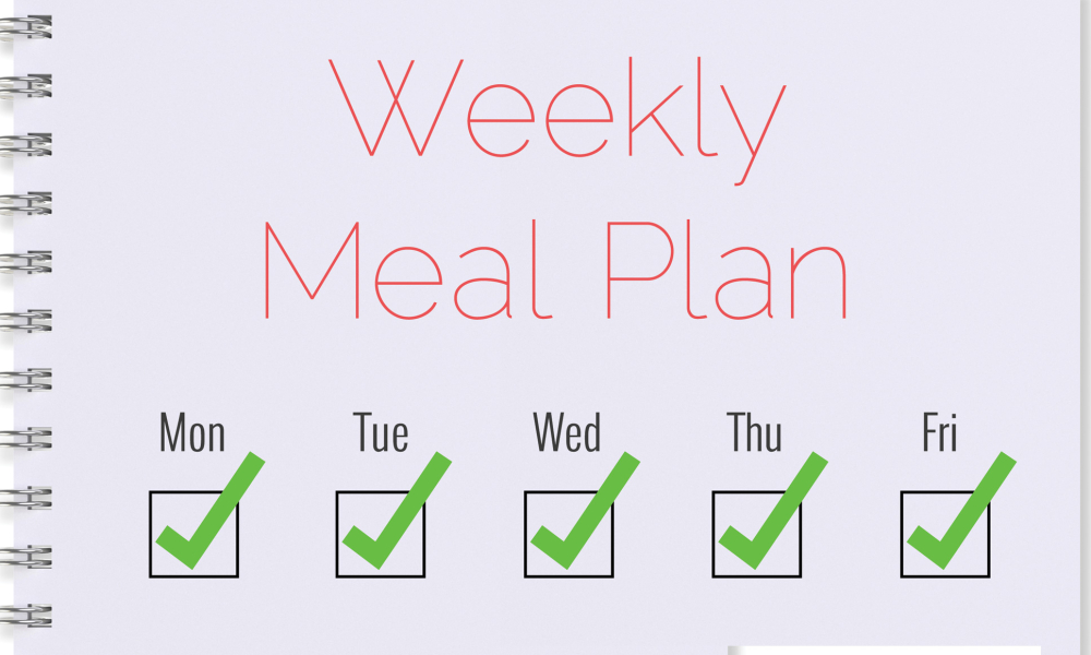 Weekly meal plans for WEIGHT loss, muscle growth, athletes, clean eating coming soon