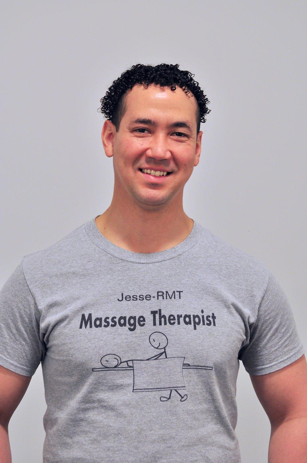 Jesse Van Rooi-Registered Massage Therapist