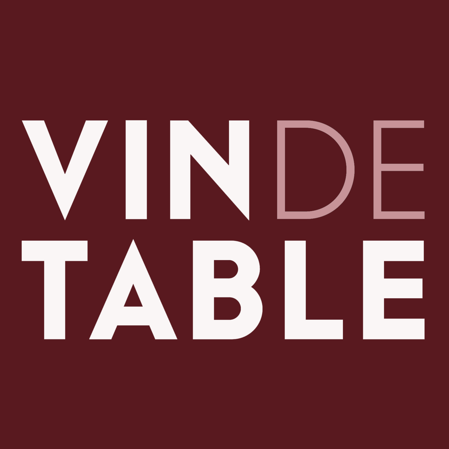 Vin de Table