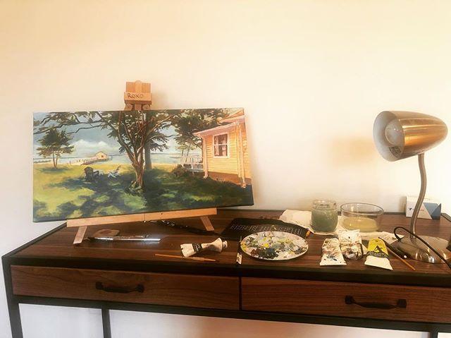 #studio #paintings