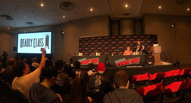 #deadlyclass at #nycc