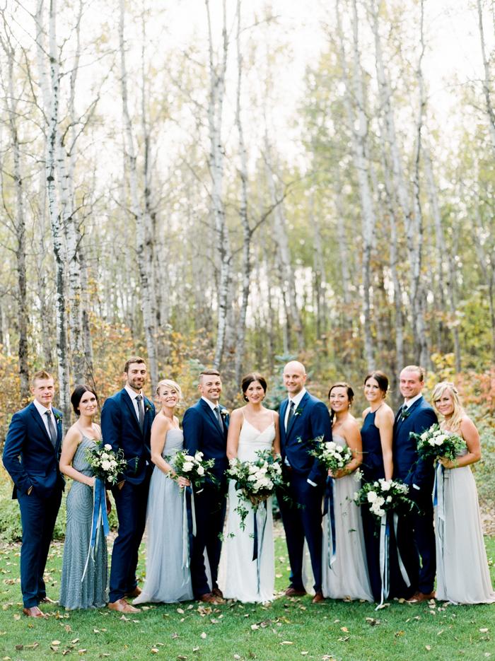 Navy Fall Wedding