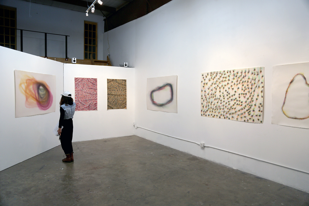 Wette  install shot at  Not Gallery  Austin, Texas