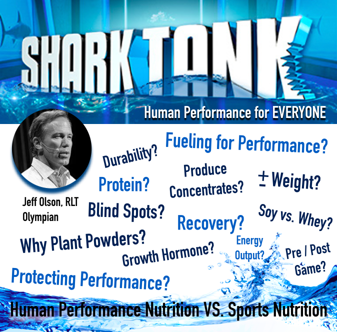 Bring it!  Will be discussing Human Performance Nutrition