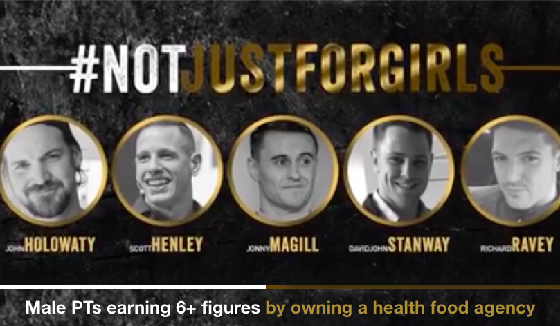 #manUP and own a health food agency. Watch   VIDEO HERE .