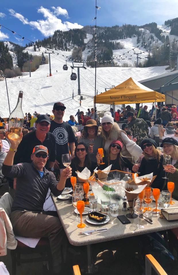 Jeff and Jeff, in Aspen, celebrating with nextGen HFA leadership.