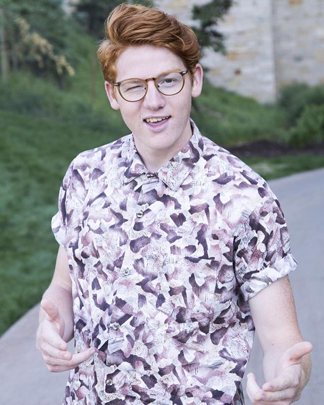 This is my brother, Ben. Ben is a normal guy. He likes normal things that guys like. He's a red head. He also likes music. Be more like Ben. Or just follow Him. @ben.day.music